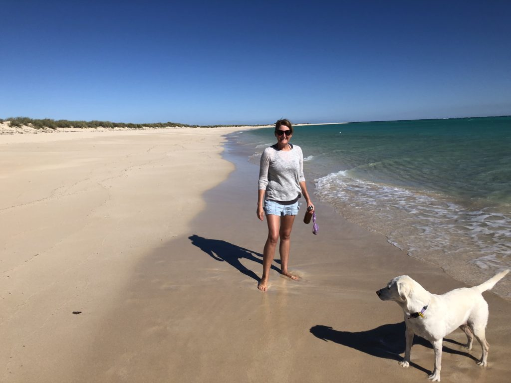 Ningaloo Station dog friendly beach WA
